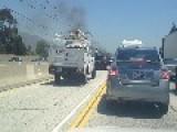 Big Rig Crash In Pasadena