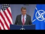 Carter Decries Russian Actions In Syria At NATO Meeting