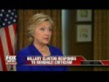 """Clinton Again Misleads About When She First Called Benghazi Attacks """"Terrorism"""
