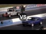 Chevy Hot Rod Vs Mustang, Camaro, Charger, Chrysler 300 Drag Race