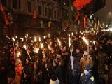 Czech Leader Condemns 'Nazi Torchlight Parade'