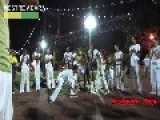 Capoeira In The Park At Night - New York