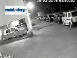 CCTV Catches Glimpse Of Something Amazing At Car Dealership