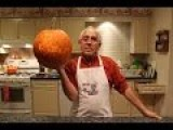 Chef Pasquale Carves Up Some Pumpkins