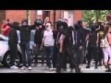 Calais Police Clash With Anti-fascist Activists