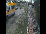 CCTV : Old Man Killed By Mini Bus Hit And Run
