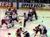 Classic NHL Brawl St. Louis Blus VS Detroit Red Wings 1993