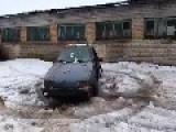 Crazy Russian Chop Shop Car