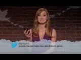 Celebrity Mean Tweets Compilation