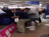 Crazy Fight In Walmart Over Last Copy Of GTA V