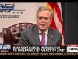 Conservative Heads Explode Over Jeb Bush Immigration Comments