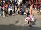 Crazy Camden Guy Dances To Spice Girls Wannabe - DJ Stop