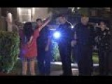 Crazy Asian Lady Standoff With Police