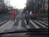 Crazy Russian Woman Dancing