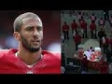 Colin Kaepernick Refuses To Stand For National Anthem During 49ers Vs Packers Pre Game