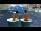 Chinese Synchronized Solo Diving - LOL!