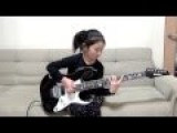 Cute Lil 8 Year Old Girl Shreds On Guitar