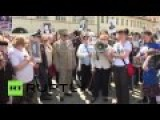 Czech Republic: 700 Take Part In Nation's First Immortal Regiment March