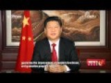 Chinese President Sends New Year Greetings To People Around The World