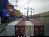 Cargoship 'Renata' Timelapse In Rotterdam Part 1