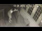 Creepy Naked Stalker Waering Ronald Reagan Mask Caught On Camera Watching People!