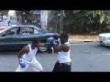 Crazy Boxing Match In The Streets Of North Philadelphia Caught On Camera! Wayne Vs Herp