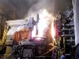 Check Out This Electric Arc Furnace In Action