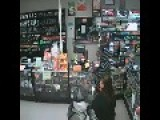 CCTV Footage Of Armed Robbery With Sound