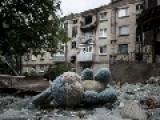 City Of Gorlovka Under Shelling, Again