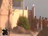 Caught On Camera IS Terrorists Detonates His Explosive Belt On Peshmerga Forces After Heavy Clashes Into The House