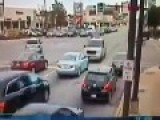 CCTV Footage Of Massive Wreck In Oak Lawn, IL