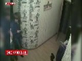 CCTV Footage Captured The Moment Fire Start In A Brothel In Moscow