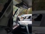 Crazy Lady Road Rage I Hope Your Kids Get Cancer