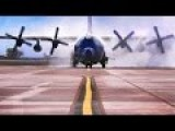 Compilation Of AC-130 Gunships In Action During Live Fire Exercises
