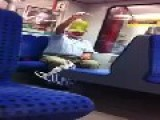 Crazy Man On Berlin Transit
