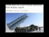 China Buys Six S-400 Missile Battalions From Russia