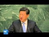 Chinese President Pledges $1 Billion And Army Of 8,000 Troops To Support UN Peace Mission