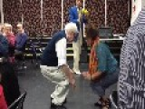 Check Out This Senior Citizen's Slick Moves With The Ladies