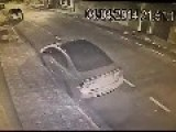 Car Thief Has A Little Surprise