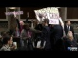 Code Pink Protesters Surprise Henry Kissinger, McCain Calls Them 'Low Life Scum'