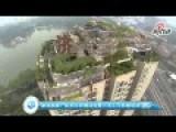 China Tower Block Villa Demolition Under Way