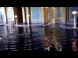 Crazy Dude Jumps Into Roman Pool At Hearst Castle