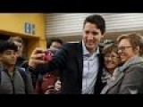Canada's New PM Justin Trudeau Surprises Commuters At Montreal Subway Station