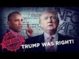 Case Closed! Trump Was Right. Obama's Birth Certificate A Fake