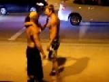 CRAZY CLUB FIGHT STARTING WITH A MAN PUNCHING WOMAN