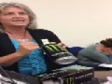 Christian Lady Monster Energy Drink Is The Anti-Christ