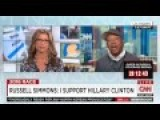 Clinton Supporter Russell Simmons: He Says Eat Plants Or We're Doomed