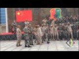 Chinese Army Dance With Saudi Arabia Soldiers To Celebrate Graduation