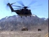 CH-53E Super Stallion Airlifting Humvee