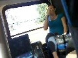 Crazy Druggy Chunky Chick On The Bus:Just Say NO To Drugs Kids!!!!!!!